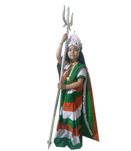 Bharat Mata Fancy Dress and Costume
