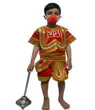 Hanuman Ji Costume Fancy Dress On Rent